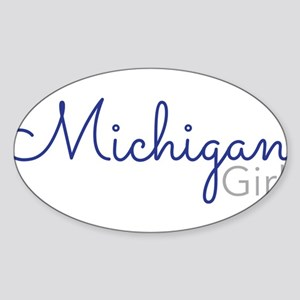 Michigan Girl Sticker
